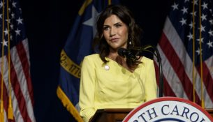 Kristi Noem raises moral considerations with privately bankrolled National Guard border deployment